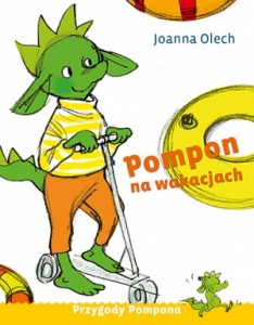 Pompon-na-wakacjach-Joanna-Olech-recenzja-książki-dla-dzieci