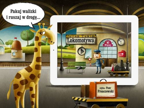 Książki Dla Dzieci Lokomotywa Julian Tuwim Aplikacja